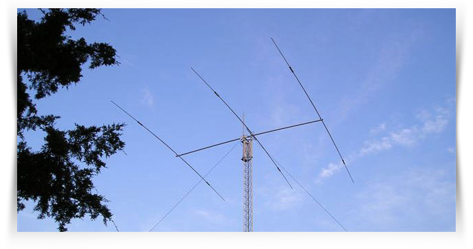 17, 20, 40 Meter 3 Element Beam Mosley S-33
